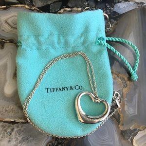 Authentic Tiffany & Co. silver Peretti necklace